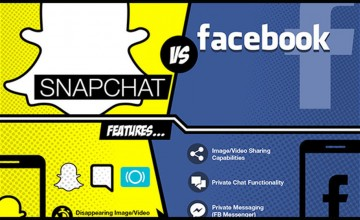 snapchat-vs-facebook-infographic