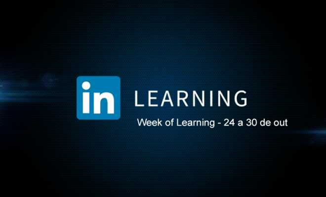 semana grátis no linkedin learning linkedin week of learning de 24 a ...