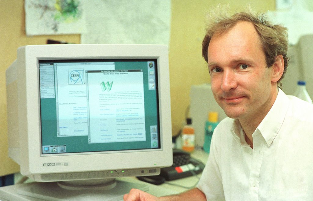 tim berners-lee pai da internet
